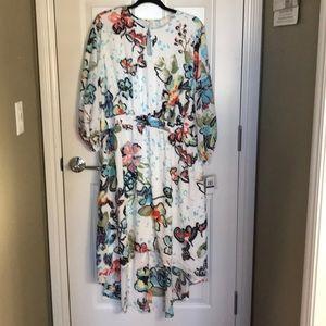 Plus Size - Melissa McCarthy Seven7 - Midi Dress